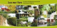 Flyer zur Veranstaltung herunterladen - Siedlergenossenschaft ...