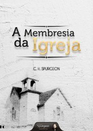 A Membresia da Igreja