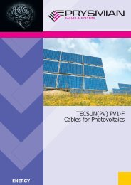 TECSUN(PV) PV1F Cables for Photovoltaics - Solarvest