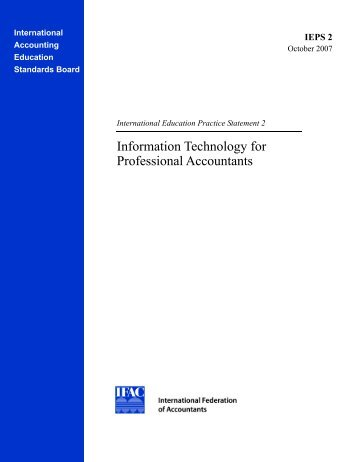 Information Technology for Professional Accountants