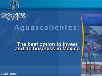 Aguascalientes, Cargo Airport, Multimodal Terminal & Free ... - Unido