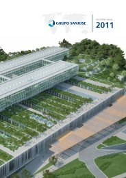 Relatório Anual 2011 - grupo sanjose
