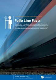 Follo Line Facts - Jernbaneverket