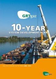 10-yearsystem development plan indicative scenario - GRTgaz