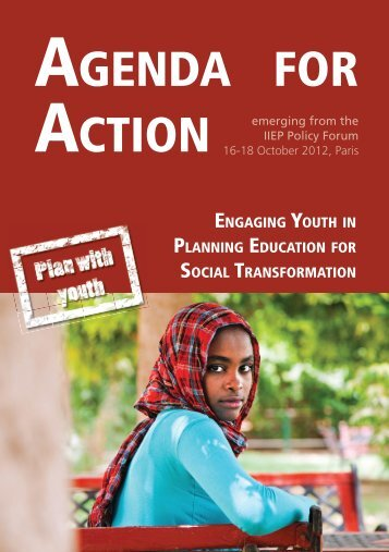 Agenda for Action: Engaging youth in planning ... - Plan with Youth