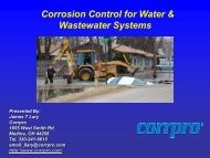 Corrosion Control in Distribution Pipes - Ohiowater.org
