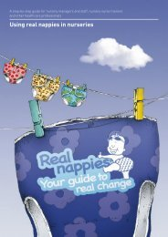 Using real nappies in nurseries - Blaenau Gwent County Borough ...