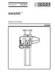 GALILEOS - Sirona Support