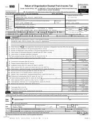 Tax Form 990 Signed 2011 - American Tax Policy Institute