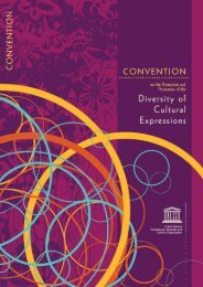 Convention on the Protection and Promotion of ... - unesdoc - Unesco