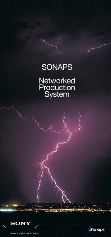 SONAPS Networked Production System - AVC Group