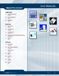 Core Materials - REALITY Publishing Company