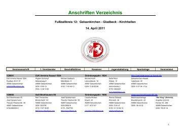 Vereinsanschriften 2011-04.02.xlsx - Kreis 12