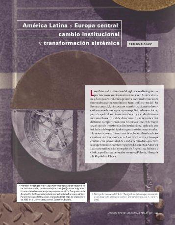 América Latina y Europa central - revista de comercio exterior