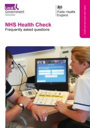 NHS Health Check : frequently-asked questions - Social Welfare Portal