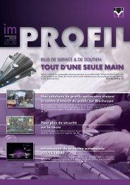Outil d'information - Welser Profile Austria GmbH