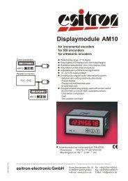 AM10 - esitron-electronic GmbH