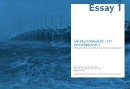 Boek PROmO - ESSAY 1 Kijk op Waterveiligheid ... - Leven met Water