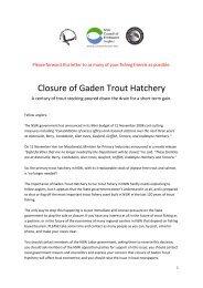 Gaden Hatchery to be closed.pdf - NA Taransky Bamboo Rods