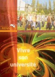 Vivre son université - Université de Rennes 1