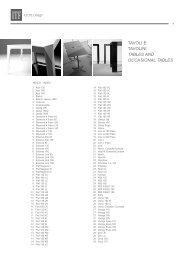 TAVOLI E TAVOLINI TABLES AND OCCASIONAL TABLES - Formul.ru