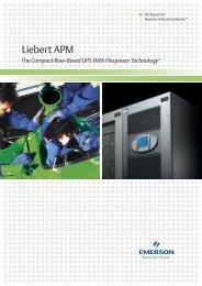 Liebert APM Brochure - SMP
