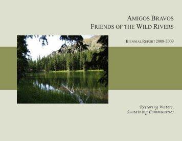 Biennial Report - Amigos Bravos