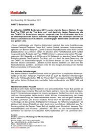 MediaInfo ÖAMTC Batterietest 2011 D - Banner GmbH