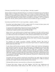 Curriculum vitae del Prof. Dr. Dr. h.c. mult. Luigi Labruna ...
