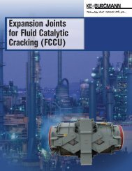 Expansion Joints for Fluid Catalytic Cracking (FCCU)