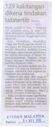 129 kakitangan dikena tindakan tatatertib 1l~'1 - MPSJ