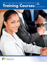Training Courses Catalog (PDF) - Johnson County Community ...
