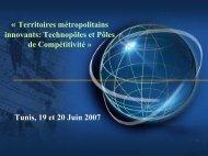 Technopoles et pôles de compétitivité - Euromedina