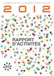 RAPPORT D'ACTIVITÉS - le Grand Dijon