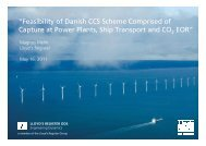 """Feasibility of Danish CCS Scheme Comprised of Capture at Power ..."