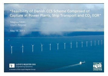 """""""Feasibility of Danish CCS Scheme Comprised of Capture at Power ..."""