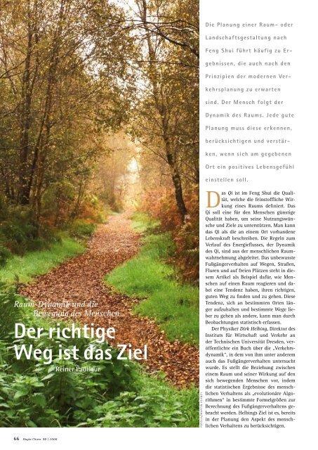 Der richtige Weg ist das Ziel - Hagia Chora Journal
