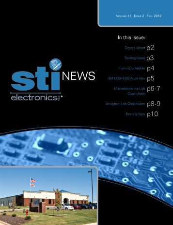 Volume 11 Issue 2 - STI Electronics, Inc.