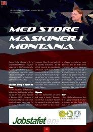 Med store maskiner i Montana - Danmarks Landboungdom