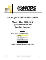 Objective 1 - Washington County, MD Public Schools