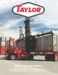 information about Taylor's TEC-150H - Taylor Machine Works