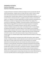 NEUROIMAGING IN PSICHIATRIA Paola Rocca, Filippo Bogetto ...