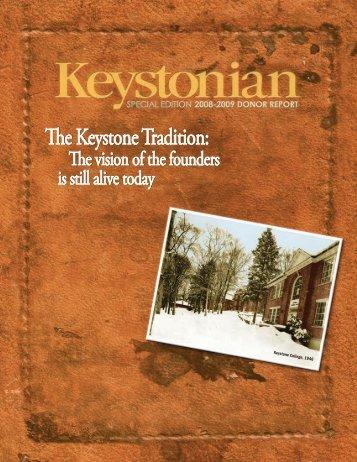 08-09 Donor Report_Printer's File.indd - Keystone College