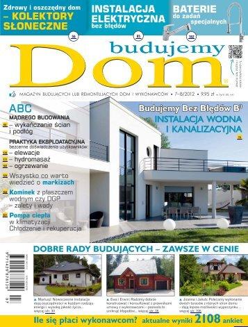 Budujemy Dom, lipiec - sierpień 2012 - UlubionyKiosk