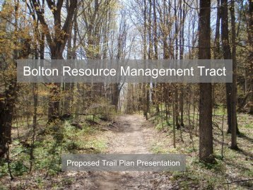 Bolton Resource Management Tract