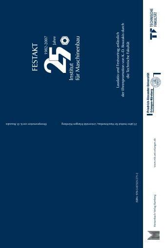 """""""Institut für Maschinenbau"""" - Reden - WINGs - Friedrich-Alexander ..."""