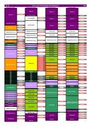 GRILLE DES PROGRAMMES W9 SEMAINE 45 - M6 Publicité