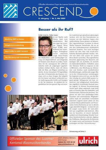Besser als ihr Ruf? - Luzerner Kantonal-Blasmusikverband