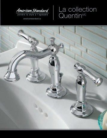 La collection QuentinMC - American Standard