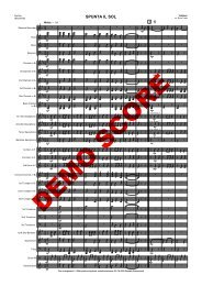 Spunta il sol WB sib3 score - Musikverlag Frank